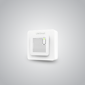 Monitor gas leak with real-time alarm both by sounds and notification through smart phone.