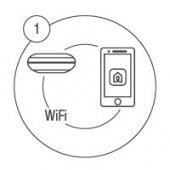 Download LifeSmart APP, configure SPOT with phone via WIFI.