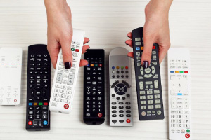 Too many remote control in your house?
